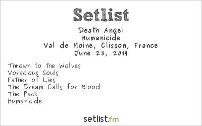 Death Angel Setlist Hellfest 2019 2019, Humanicide