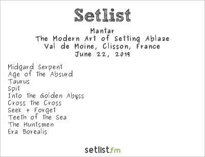 Mantar Setlist Hellfest 2019 2019, The Modern Art of Setting Ablaze