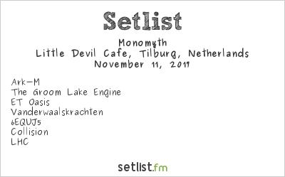 Monomyth Setlist Little Devil Cafe, Tilburg, Netherlands 2017