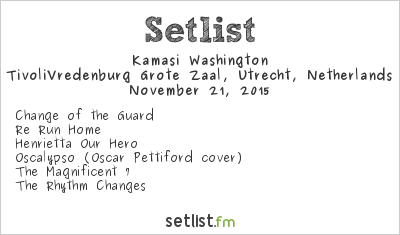 Kamasi Washington Setlist Le Guess Who? 2015 2015