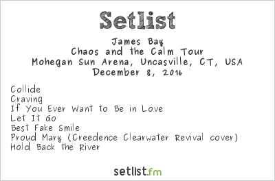 James Bay Setlist 96.5 Tic All Star Christmas 2016 2016