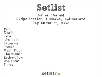 Cellar Darling at Südpoltheater, Lucerne, Switzerland Setlist