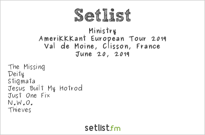 Ministry Setlist Knotfest Meets Hellfest 2019 2019