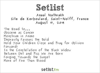 Anaal Nathrakh Setlist Motocultor Festival 2019 2019