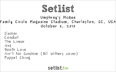 Umphrey's McGee Setlist Family Circle Magazine Stadium, Charleston, SC, USA 2013