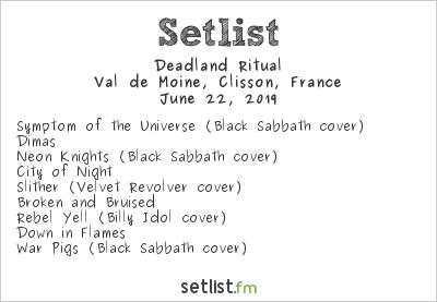 Deadland Ritual Setlist Hellfest 2019 2019