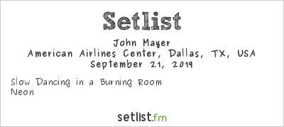 John Mayer Setlist Crossroads Guitar Festival 2019 2019