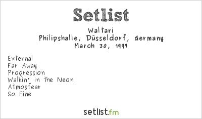 Waltari Setlist Osterrocknacht 1997 1997