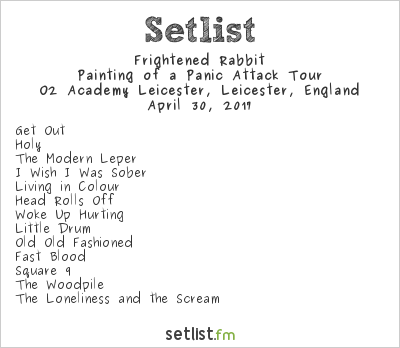 Frightened Rabbit Setlist Handmade Festival 2017 2017, Painting of a Panic Attack Tour