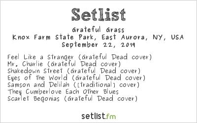 Grateful Grass Setlist Borderland Music + Arts Festival 2019 2019