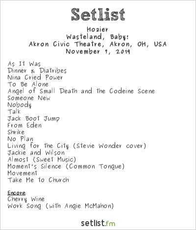 Hozier Concert Review Akron Oh Akron Civic Theatre 11 07 2019 Cleverock Com Músicas com letras para você ouvir, ler e se divertir. hozier concert review akron oh