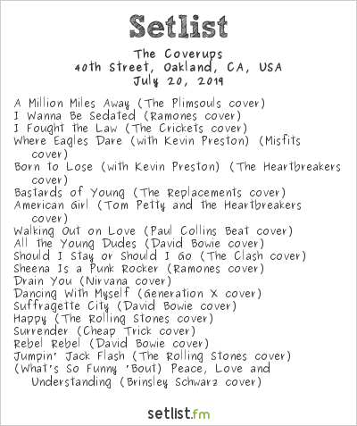 The Coverups Setlist 40th Street Block Party 2019 2019