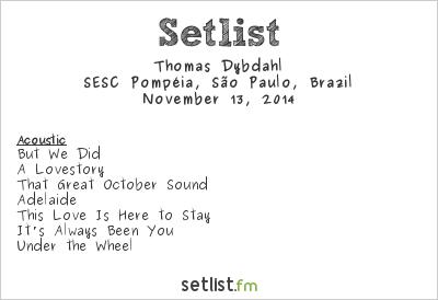 Thomas Dybdahl Setlist Kleztival - Festival Internacional de Música Judaica 2014 2014