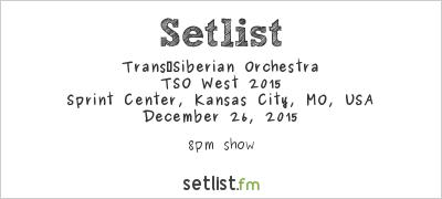 Transiberian Orchestra Kansas City