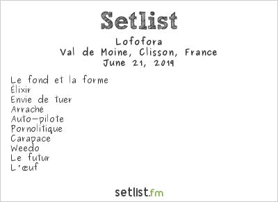 Lofofora Setlist Hellfest 2019 2019