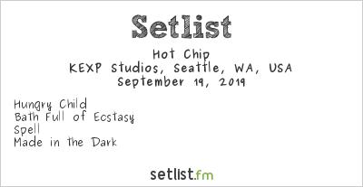 Hot Chip at KEXP Studios, Seattle, WA, USA Setlist