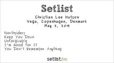 Christian Lee Hutson Setlist Vega, Copenhagen, Denmark 2019