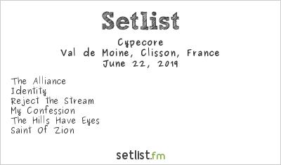 Cypecore Setlist Hellfest 2019 2019