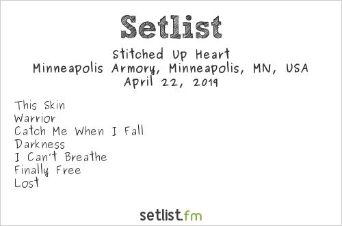 Stitched Up Heart Setlist Minneapolis Armory, Minneapolis, MN, USA 2019