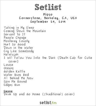 Mipso Setlist Cornerstone Craft Beer & Live Music, Berkeley, Californie, États-Unis d'Amérique 2019