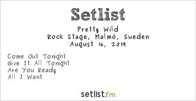 Pretty Wild Setlist Malmöfestivalen 2019 2019