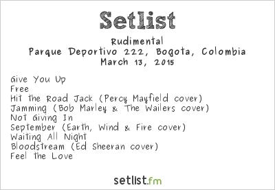 Rudimental Setlist Estéreo Picnic 2015 2015