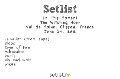 In This Moment Setlist Hellfest 2018 2018, The Witching Hour