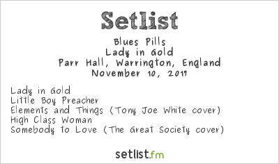 Blues Pills Setlist Parr Hall, Warrington, England 2017, Lady in Gold