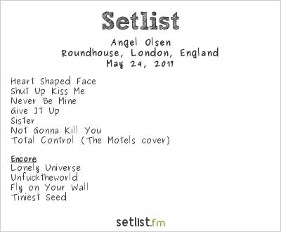 Angel Olsen Setlist Roundhouse, London, England 2017