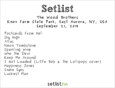 The Wood Brothers Setlist Borderland Music + Arts Festival 2019 2019