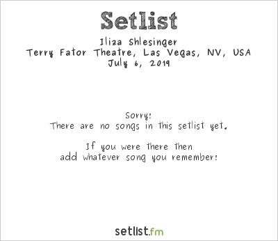 Iliza Shlesinger Setlist Mirage Hotel & Casino - Terry Fator Theatre, Las Vegas, NV, USA 2019