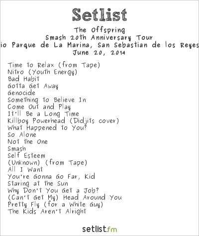 The Offspring Setlist