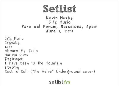Kevin Morby Setlist Primavera Sound 2017 2017