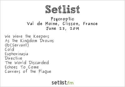 Psycroptic Setlist Hellfest 2019 2019