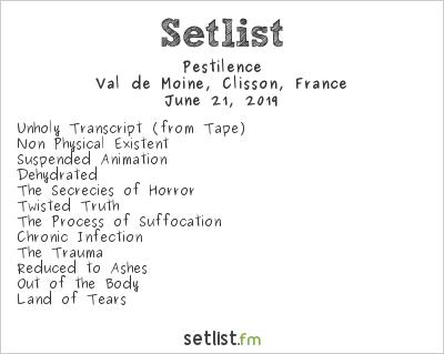 Pestilence Setlist Hellfest 2019 2019