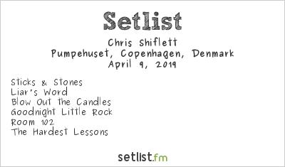 Chris Shiflett Setlist Pumpehuset, Copenhagen, Denmark 2019