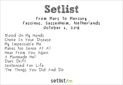 From Mars To Mercury Setlist Fascinus, Sassenheim, Netherlands 2018