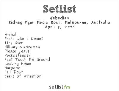 Jebediah Setlist Summer Sounds Festival 2021 2021