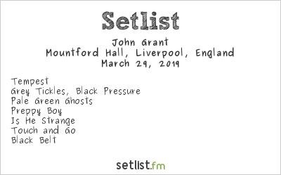 John Grant Setlist BBC Radio 6 Music Festival 2019 2019
