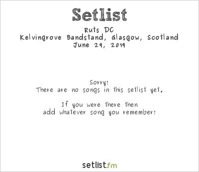 Ruts DC at Kelvingrove Bandstand, Glasgow, Scotland Setlist