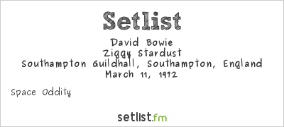 David Bowie 1972-03-11 Southampton Guild hall (24bit GX-75 possibly fake) (RAW) - SQ 5,5