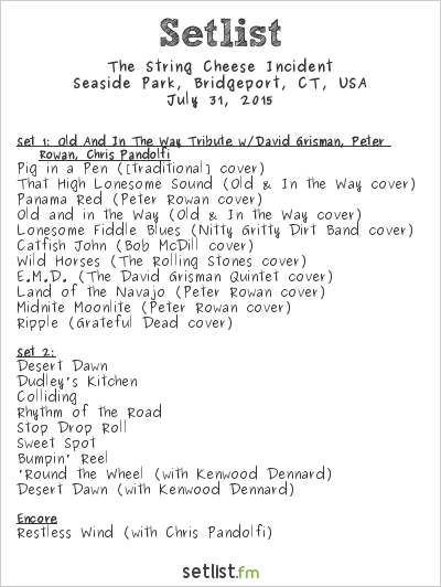 string cheese setlist