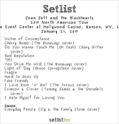At the event center at hollywood casino charles town wv usa setlist