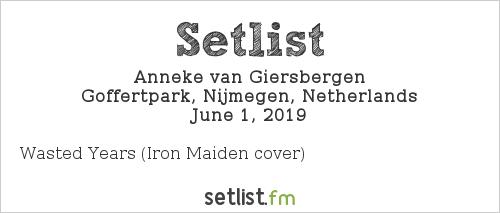 Anneke van Giersbergen Setlist FortaRock 2019 2019
