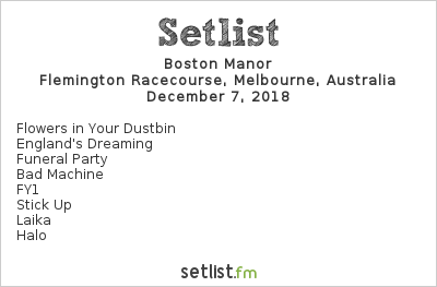 Boston Manor Setlist Good Things Melbourne 2018 2018