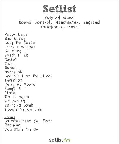 Twisted Wheel Setlist Sound Control, Manchester, England