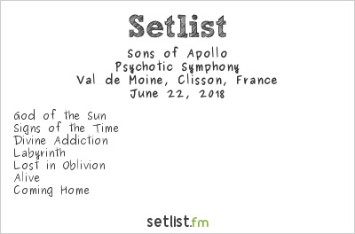 Sons of Apollo Setlist Hellfest 2018 2018, Psychotic Symphony