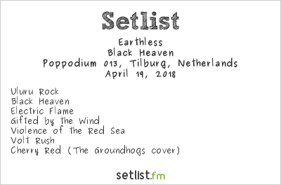 Earthless Setlist Roadburn 2018 2018, Black Heaven