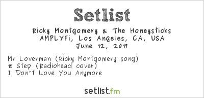 Ricky Montgomery & The Honeysticks at AMPLYFi, Los Angeles, CA, USA Setlist
