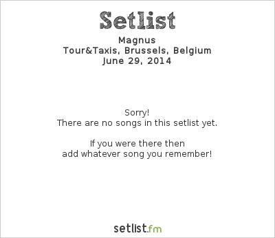 Setlist Magnus DJ-Set